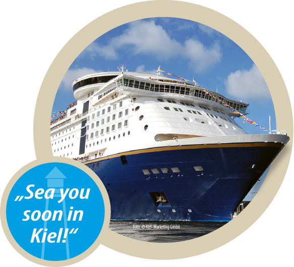 """Sea you soon in Kiel!"""